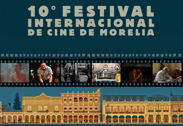 Lista de ganadores del 10 Festival Internacional de Cine de Morelia