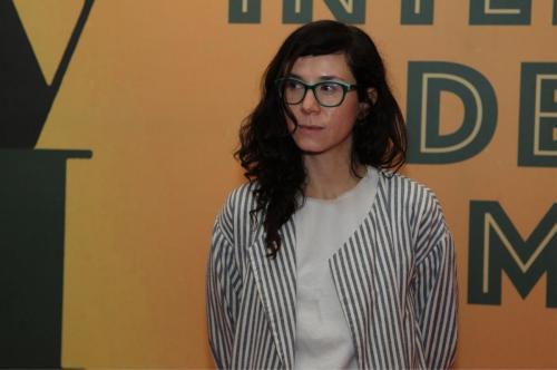 Natalia Beristáin, la directora.