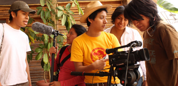 Cortos de jóvenes indígenas en Ambulante 2014