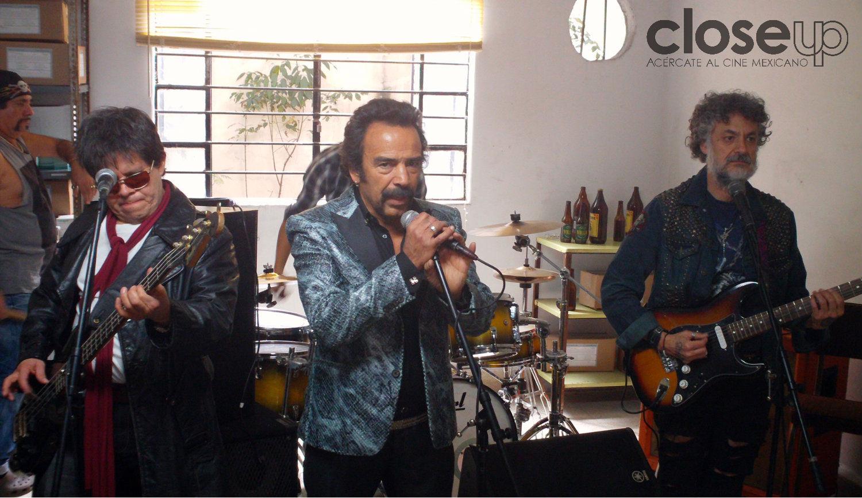 Una banda de rock liderada por Damián Alcázar