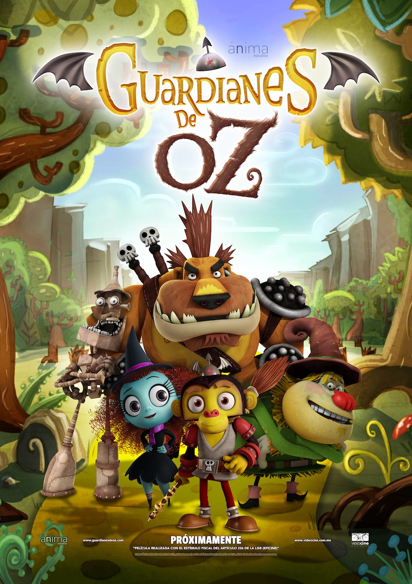 Guardianes de Oz póster