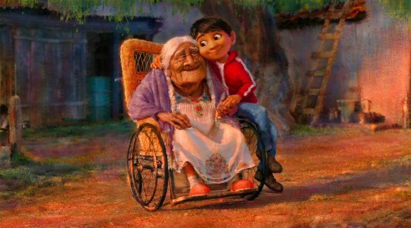 Gael en el Día de Muertos de Pixar