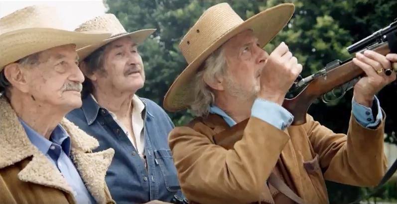 El ocaso del cazador, último «western» con Mario Almada
